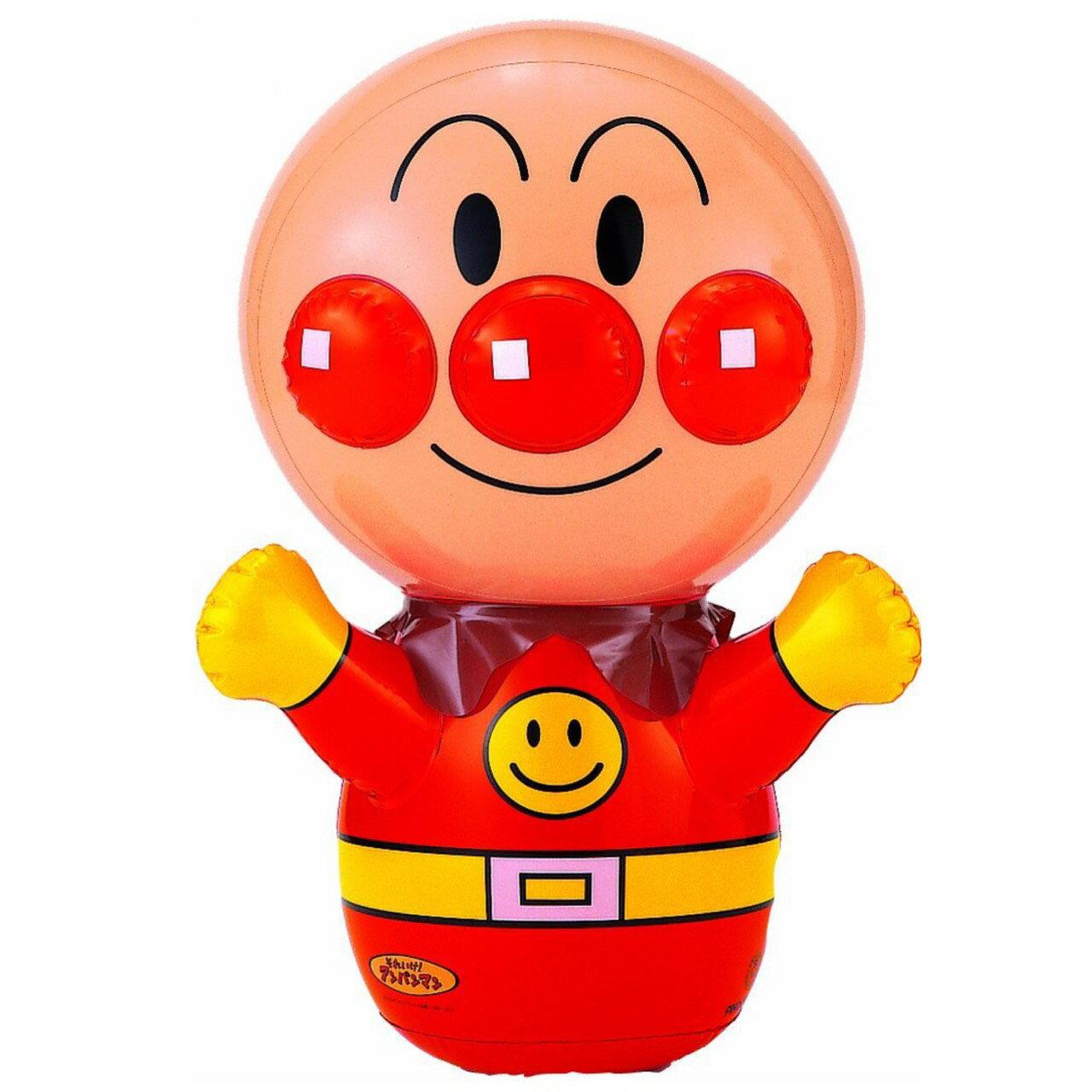 **雙子俏媽咪親子館**  [日本]  麵包超人 Anpanman  不倒翁吹氣大公仔/一拳KO大超人