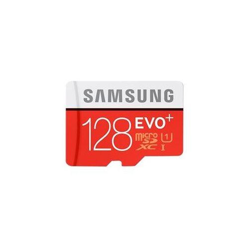 Samsung EVO+ 128GB microSDXC Class 10 128G EVO Plus microSD micro SD SDXC 80MB/s UHS-I U1 C10 MB-MC128DA/ with Original SD Adapter