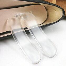 ♚MY COLOR♚隱形後跟硅膠防磨貼 防滑 止滑 鞋墊 磨腳 柔軟 舒適 黏貼 保健 磨擦 加厚【F44】