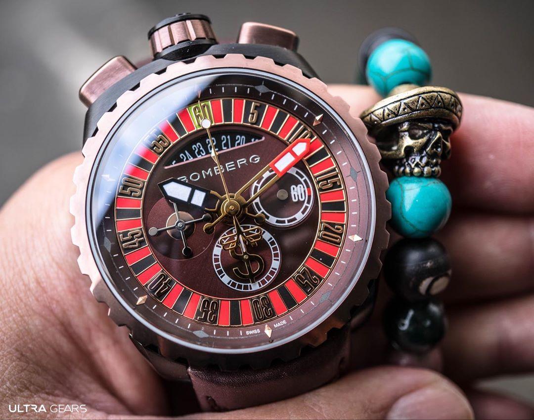 Bomberg BOLT-68 系列 賭神輪盤計時碼錶-特別版