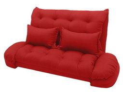 【台客嚴選】卡莉爾沙發床椅-紅色