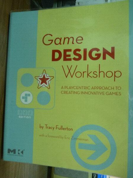 ~書寶 書T4/原文書_PHF~Game Design Workshop_Fullerto