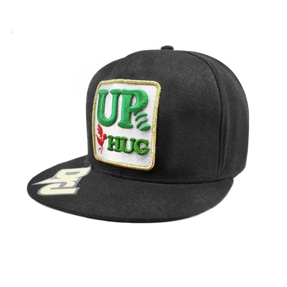 DrJ 電繡UP棒球帽 黑色