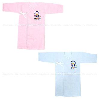 藍色企鵝 PUKU反袖口紗布長肚衣20405 好娃娃