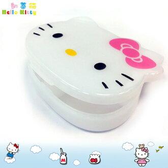 三麗鷗 凱蒂貓Hello Kitty 四格小物收納盒小物盒 置物盒藥盒分裝盒飾品盒 日本進口正版 353819