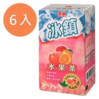 泰山 冰鎮水果茶 300ml (6入)/組
