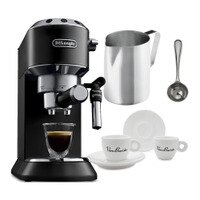 Deals on Delonghi America EC685BK Dedica Deluxe Espresso w/Accessories