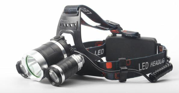 《沛大旗艦店》$200T6LED探照頭燈釣魚頭燈強光頭燈充電式夜間照明夜釣居家安全戶外探險【S26】