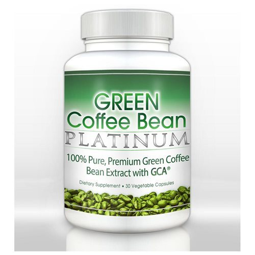 Green Coffee Bean Platinum Pure Green Coffee Extract 800mg. Weight Loss Diet Fat Burner