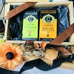 父親節禮盒/澳洲精油組 (茶樹精油+鴯鶓油) /提神/澳洲原裝/100%天然茶樹