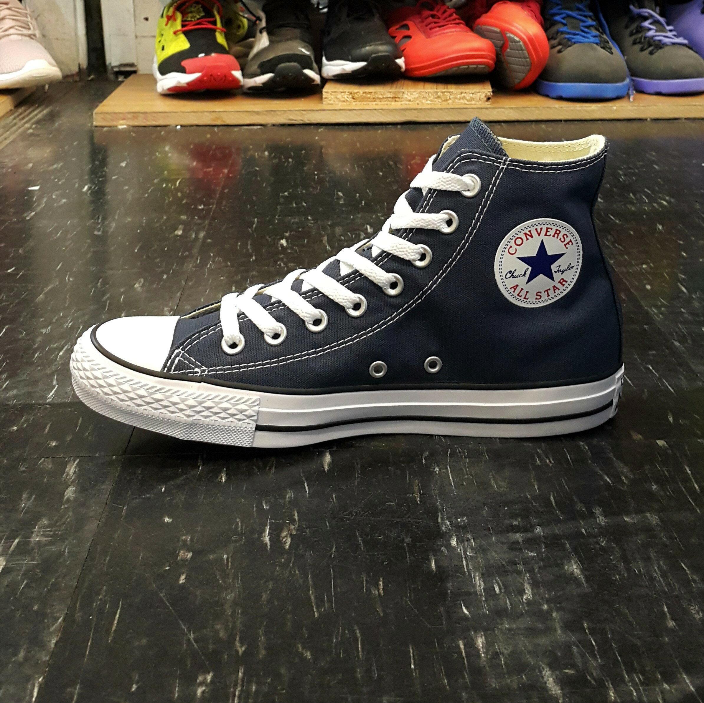 Converse Chuck Taylor All Star 基本款 帆布 高筒 藍色 海軍藍 深藍色 M9622C