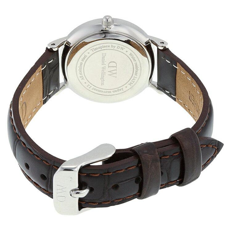 瑞典正品代購 Daniel Wellington 0922DW 銀 玫瑰金  真皮 錶帶 男女錶 手錶腕錶 26MM 4