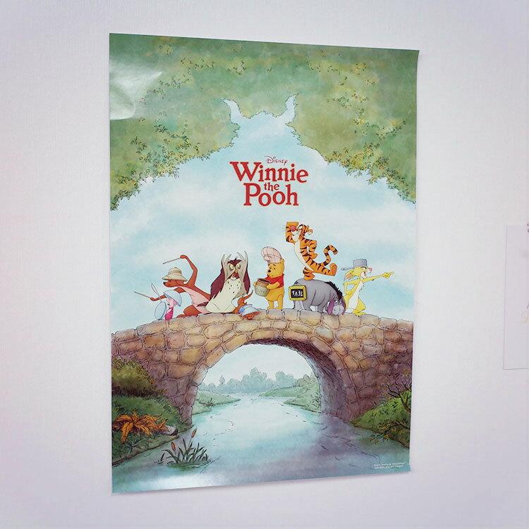 PGS7 迪士尼系列商品 - 迪士尼 海報 (A3) 小熊維尼 Winnie TSUM 造型 【SFW7044】
