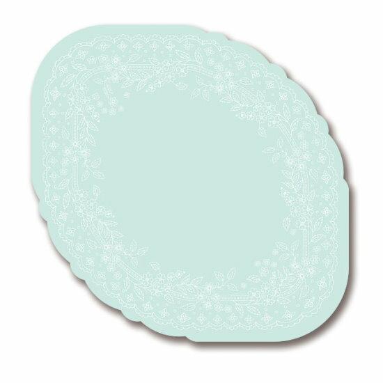 【配件基本量】造型蛋糕盤:10號粉藍400個