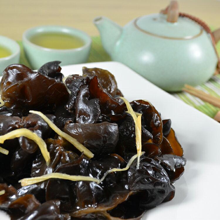 【 禾禾廚房】清涼爽口好開味  日式涼拌川木耳200g/1包 0