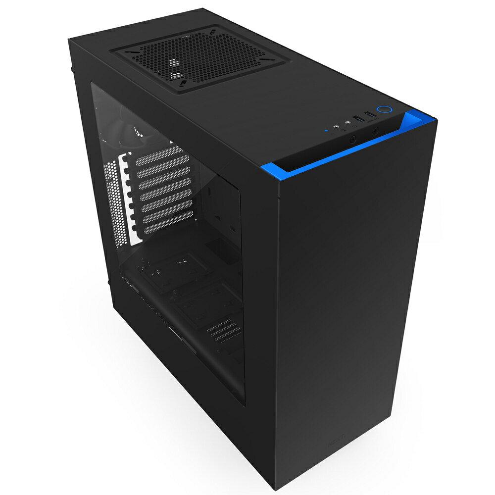 【迪特軍3C】NZXT 恩傑 電腦機殼 Source 340 機殼 (黑藍)