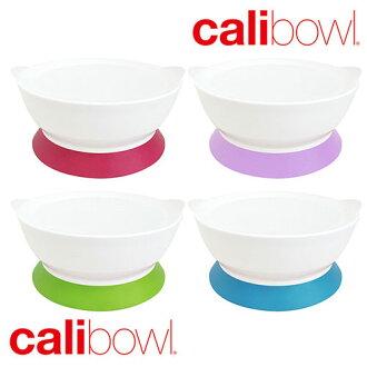 美國 CaliBowl 專利防漏防滑幼兒學習吸盤碗 單入附蓋 12oz *夏日微風*