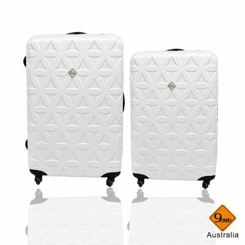 Gate9花花系列ABS霧面兩件組24吋+20吋輕硬殼旅行箱 / 行李箱 0