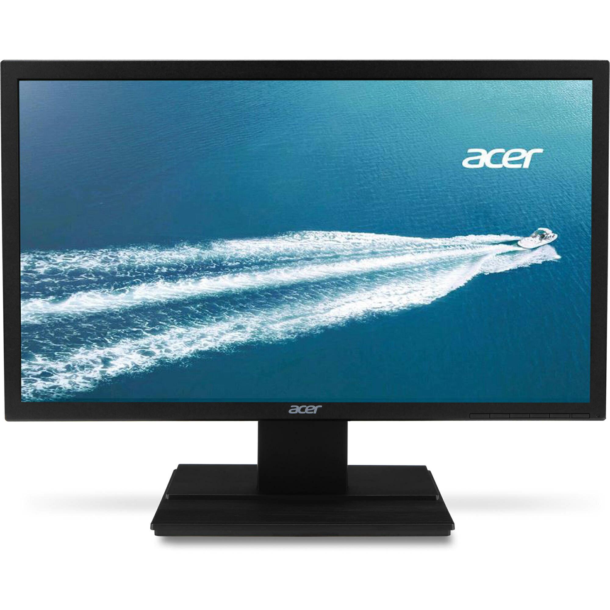 "Acer 24"" Widescreen LCD Monitor Display Full HD 1920 X 1080 5 ms TN Film|V246HL 0"