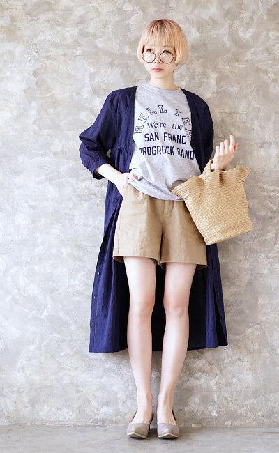 日本e-zakka / 休閒褶邊設計手提包 / 21670-1801122 / 日本必買 代購 / 日本樂天直送(2500) 8