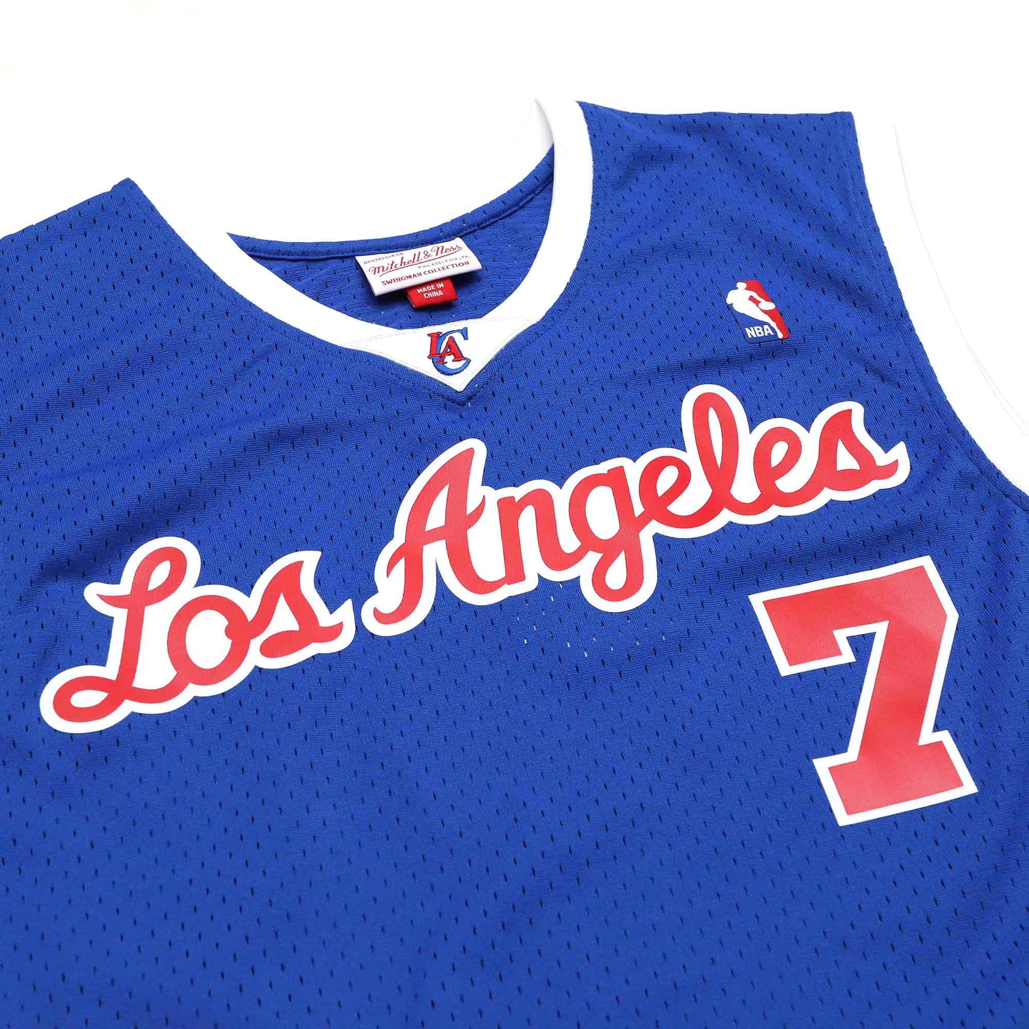 【毒】Mitchell & Ness NBA 球迷版球衣 Lamar Odom 02-03 Alt 快艇 藍