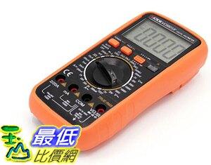 (大陸直寄) 萬用表 9801A ( 勝利) 勝利 VC9801A 數字萬用表 帶背光 火線判斷數顯萬能多用表
