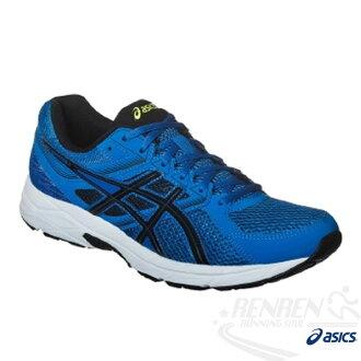 ASICS亞瑟士 男慢跑鞋 GEL-CONTEND 3 (藍) 2016新品 健康慢跑