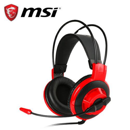 MSI微星DS501玩家級線控電競耳麥【三井3C】