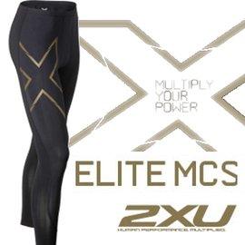 2XU 路跑/馬拉松/腳踏車/登山/滑雪/慢跑褲/壓縮褲 Elite MCS 緊身褲 穴道壓縮新版 男 MA3062b
