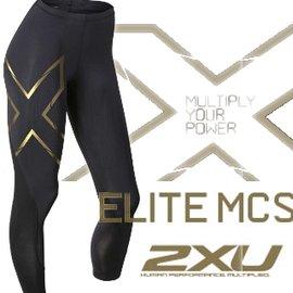 [ 2XU ] 路跑/馬拉松/腳踏車/登山/滑雪/慢跑褲/壓縮褲 Elite MCS 緊身褲 穴道壓縮新版 女 WA3063b