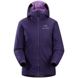 [ Arcteryx 始祖鳥 ] 8120/13984 Atom SV Hoody 女款 高防潑水輕量連帽化纖保暖外套 黑莓紫 Arc'teryx