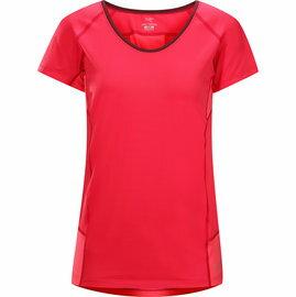 [ Arcteryx 始祖鳥 ] 12093 Kapta Shirt SS 女款 粉紅鬱金香 輕量透氣短袖圓領排汗衣 Arc\