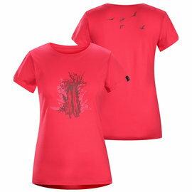 [ Arcteryx 始祖鳥 ] 13891 Trunk T-Shirt 女款 桃紅鬱金香 透氣圓領短袖棉上衣 Arc'teryx