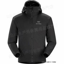 六折特賣 Arcteryx 始祖鳥 14648 Atom AR Hoody 連帽化纖保暖外套/防潑水滑雪外套/雪衣/登山保暖層 男款 黑 Arc\