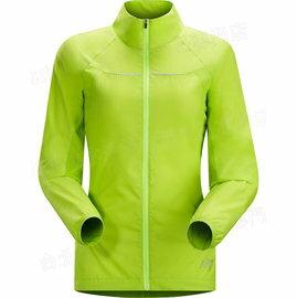 零碼特價Arcteryx 始祖鳥 跑步風衣/運動風衣/路跑/馬拉松/輕量透氣 13617 Cita 女款 螳螂綠