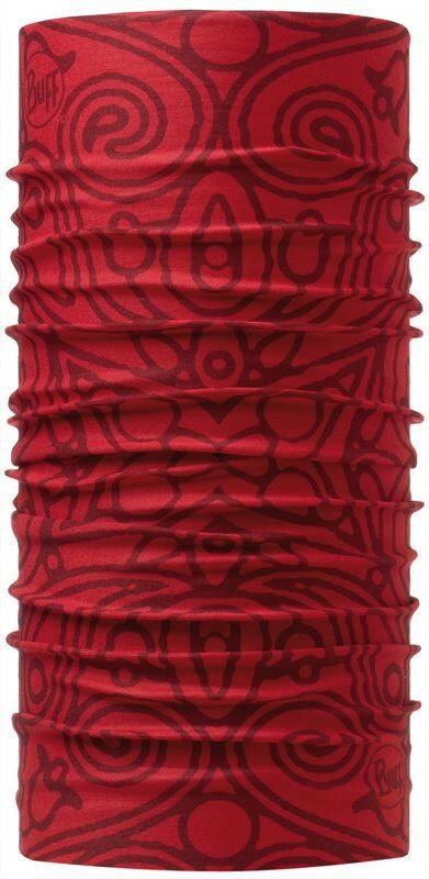 [ Buff ] 阿坎納紅 ORIGINAL 西班牙魔術頭巾 經典排汗抗菌萬用頭巾 107789