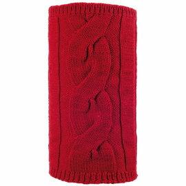 [ Buff ] Root 美麗諾羊毛麻花素色圍巾/保暖頸圍 341013 紅