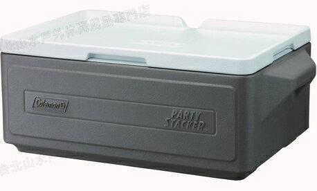[ Coleman ] 置物型冰桶/行動冰箱/可堆疊好攜帶 CM-1328J 灰 23.5L