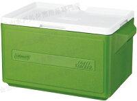 新手露營用品推薦到[ Coleman ] 置物型冰桶/行動冰箱/可堆疊好攜帶 CM-1331 綠 31L