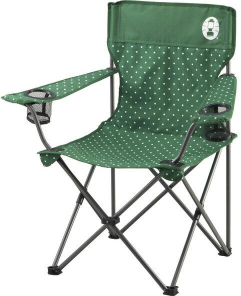 [ Coleman ] 圓點渡假椅/折椅/露營折疊椅 CM-26735 綠