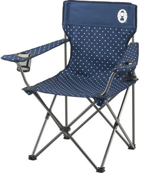 Coleman 圓點渡假椅/折椅/露營折疊椅 CM-26736 藍