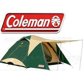[ Coleman ] 露營帳篷/露營/露營用品 帳棚/蒙古包/4-6人透氣圓頂露營帳 CM17860
