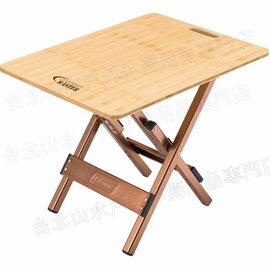 Coleman 舒適達人竹邊桌/摺疊竹桌 CM3123JM000