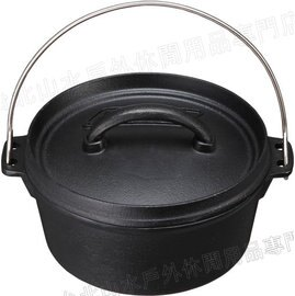 [ Coleman ] SF荷蘭鍋/鑄鐵鍋 八吋 免開鍋/附收納袋+起鍋勾 CM9393JM000