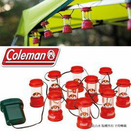 六折特價 Coleman LED 串燈/露營燈/黃光聖誕燈 CM-9359JM000