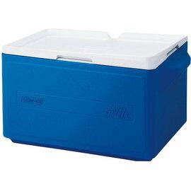 展示品出清Coleman31L置物型冰桶行動冰箱可堆疊好攜帶CM-1330藍