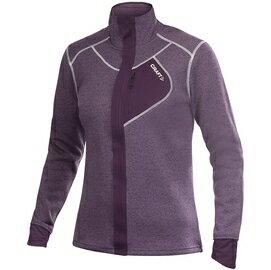[ Craft ] 1901671 2459 Performance Warm 深紫 女款 全開式長袖拉鍊中層衣 長袖中層保暖刷毛外套