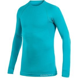 [ Craft ] 1901648-1652湖綠 KEEP WARM WOOL 男款 長袖圓領保暖羊毛衣/排汗衣