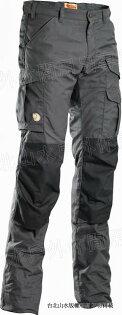 Fjallraven 瑞典北極狐 Barent Pro Winter 雪褲/耐磨長褲/登山褲/工作褲 男 G-1000 合身版 保暖填充 81144-030 深灰