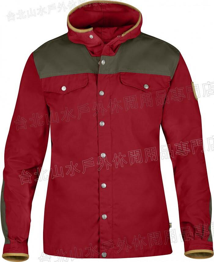 Fjallraven 瑞典北極狐 Greenland No.1 Special Edition 風衣外套/獵裝夾克/軍裝/復古/穿搭 08408A 325深紅 特別版